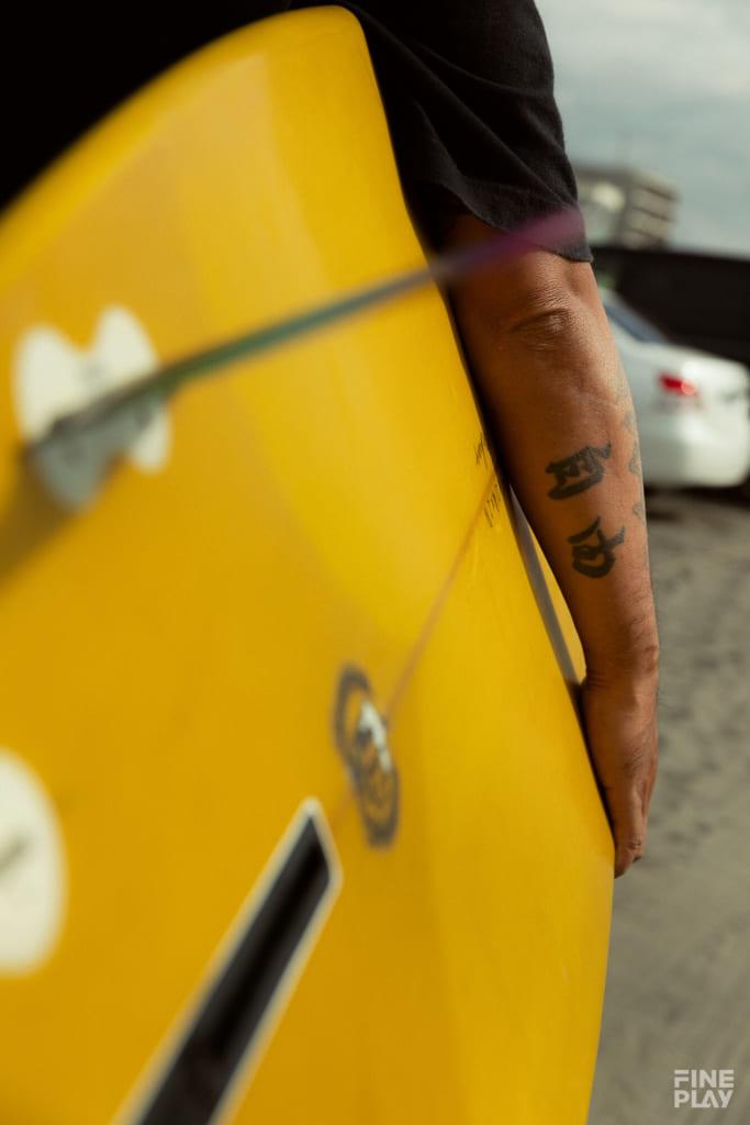 腕に刻まれた「自由」 photo by Kazuki Murata
