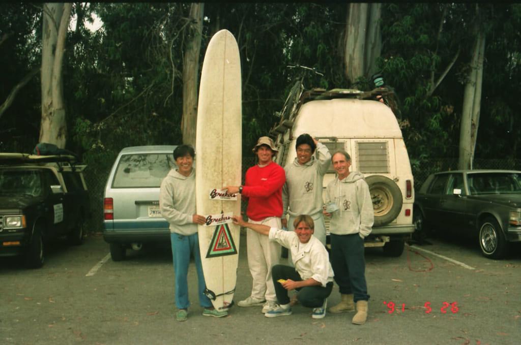 カルフォルニア中からサーファーが集まる、年一回のお祭りにTDIとして参加した。