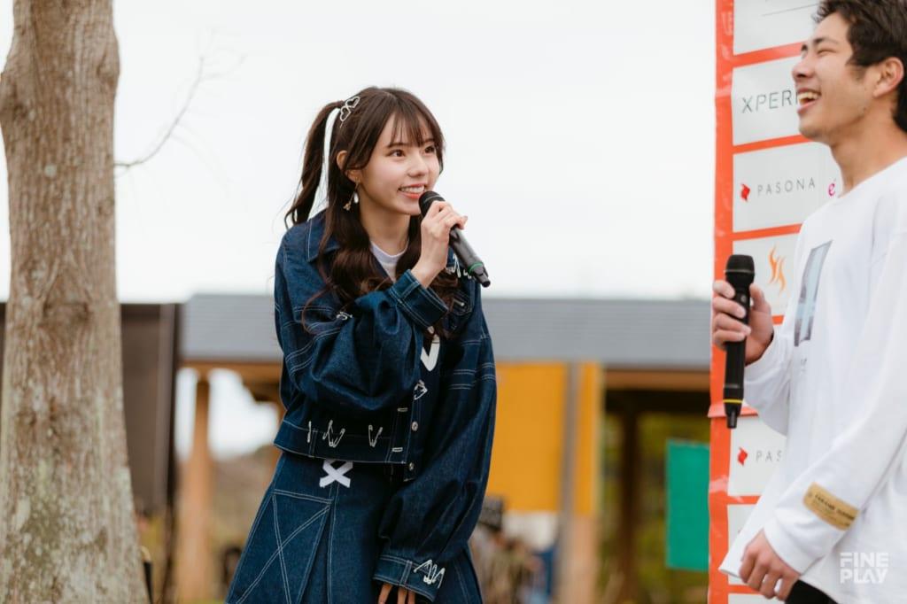 ラストアイドル 大森莉緒 / photo by Kazuki Murata