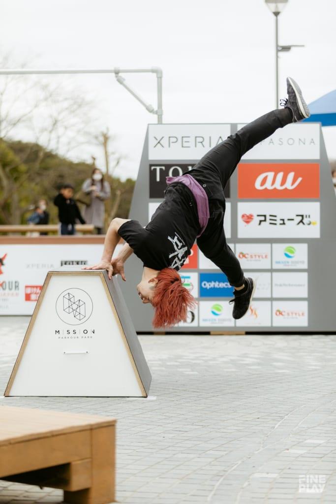 勝乗志音 / photo by Kazuki Murata