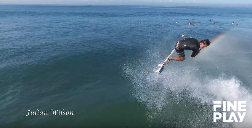 【ドローン映像】WCTサーファーのセッションをドローンで空撮