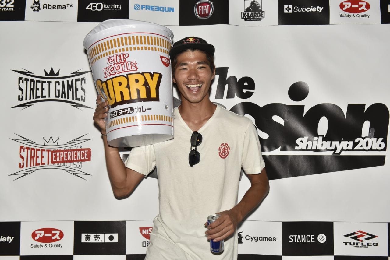 準優勝:Ryo Sejiri/Japan (19)
