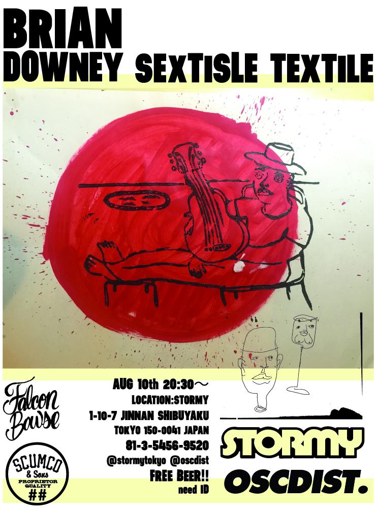 SCUMCO&SONSライダーBRIAN DOWNEY氏のギャラリーイベントが、8/10日(水)に渋谷で開催決定!