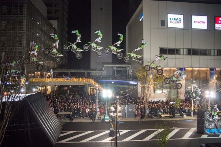 日本初!公道でのFMX『FMX AIR JACK』の舞台裏